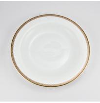 """Набор 6 тарелок 19см """"Золотая вышивка"""""""