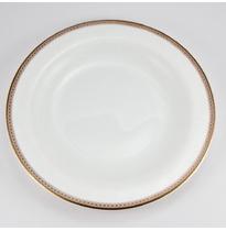 """Набор 6 тарелок десертных 21см """"Золотая вышивка"""""""