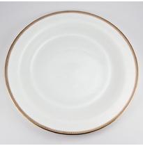 """Набор 6 тарелок подстановочных 28см """"Золотая вышивка"""""""