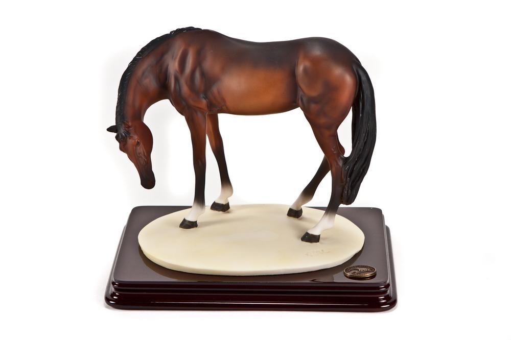 """Cкульптура """"Лошадь """" высота 19 см. Boom-Дом"""